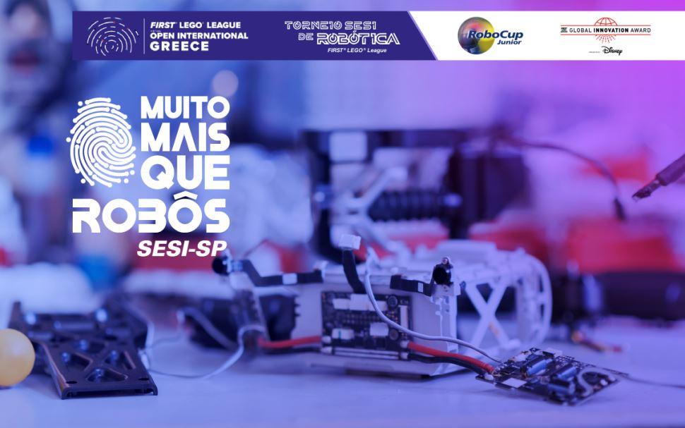 Robótica do SESI-SP fecha semestre com três vitórias mundiais e uma nacional