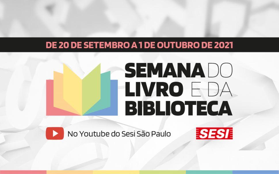 SESI-SP recebe Júlio Emílio Braz, Pedro Bandeira, Laurentino Gomes e Gabriel o Pensador em semana literária