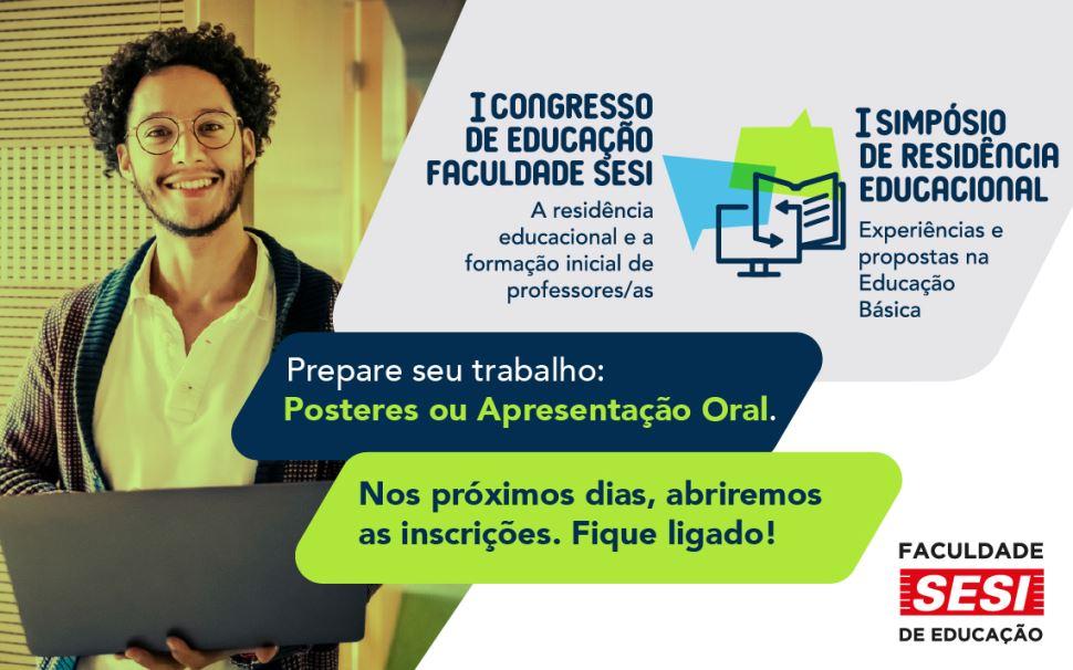 Vem aí: I Congresso de Educação da Faculdade SESI