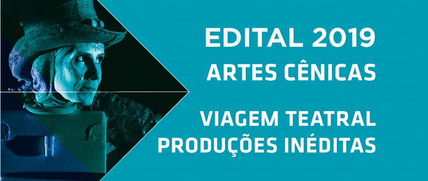 SESI-SP recebe projetos culturais para o Viagem Teatral Produções Inéditas 2019