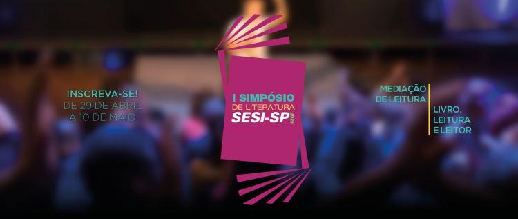 SESI-SP realiza Simpósio de Mediação de Leitura nos dias 14 e 15 de maio