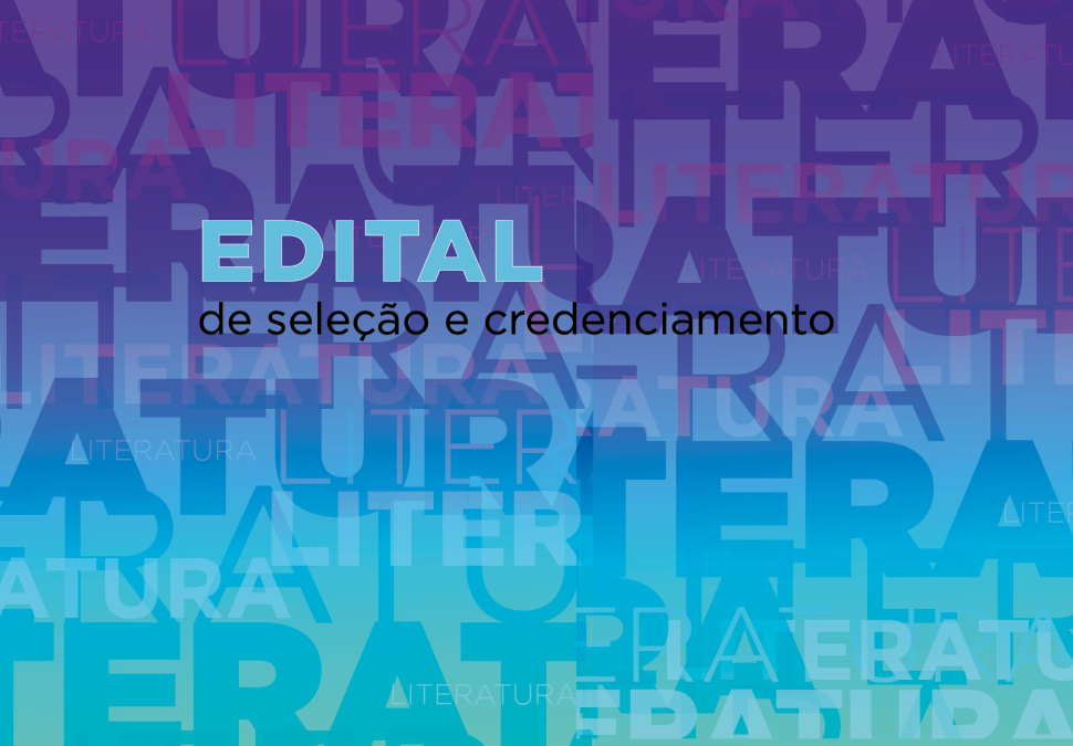 SESI-SP abre edital para credenciamento de projetos literários para 2021. Inscreva seu projeto!
