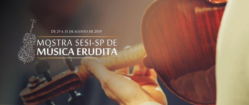 Três concertos especiais e gratuitos no SESI A.E. Carvalho