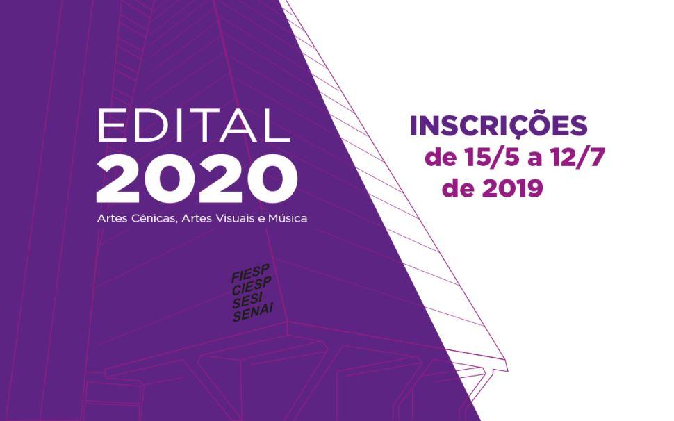 Últimos dias: inscrições de projetos para a programação cultural de 2020 terminam dia 12 de julho