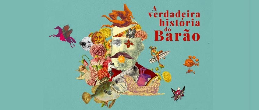 Fantásticas aventuras no espetáculo A Verdadeira História do Barão, em cartaz no Teatro do SESI-SP