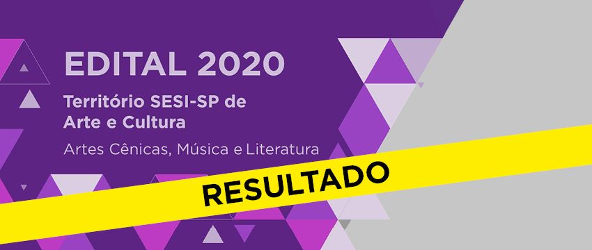 Confira a lista de projetos regionais aprovados no Edital Território SESI-SP de Arte e Cultura