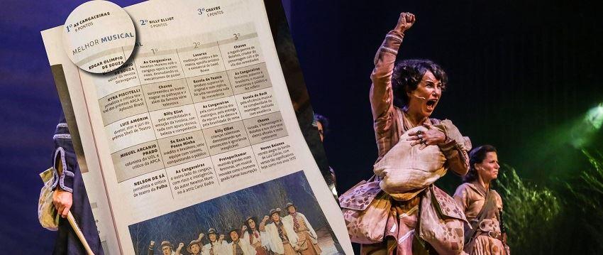 As Cangaceiras é eleito como o melhor musical do ano de 2019 pelo Guia da Folha