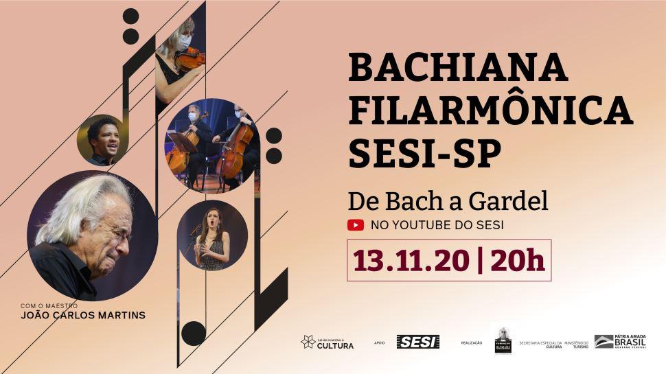 Live com apresentação da Bachiana Filarmônica Sesi-SP no Youtube do Sesi-SP
