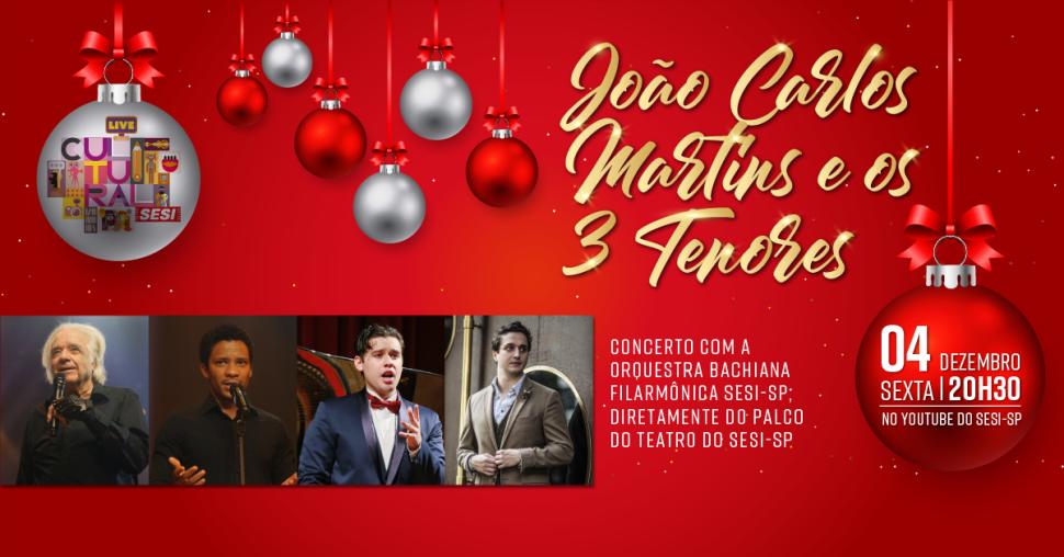 Concerto especial com João Carlos Martins pelo Youtube do Sesi-SP