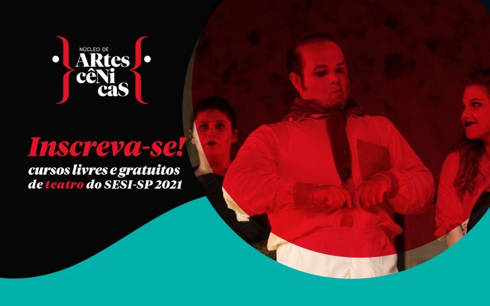 SESI São José dos Campos oferece curso gratuito de teatro