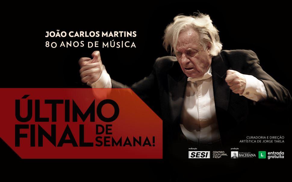 """A exposição """"João Carlos Martins: 80 Anos de Música"""" está nos últimos dias! Se você ainda não foi visitar, corre que ainda dá tempo"""