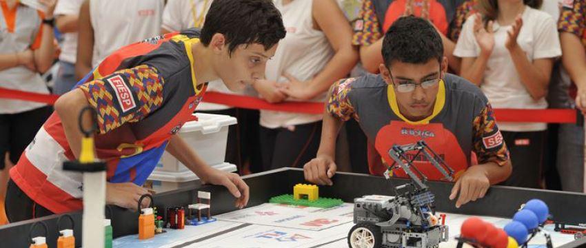 SESI-SP leva 10 times para o torneio nacional de robótica ao Rio de Janeiro