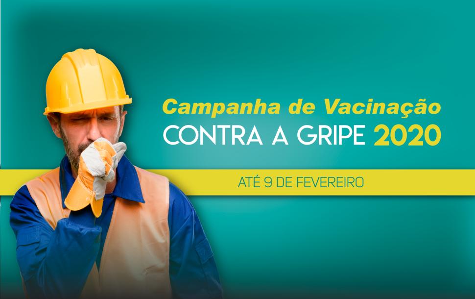 Empresas: prorrogado o prazo para adesão da campanha de vacinação contra a gripe