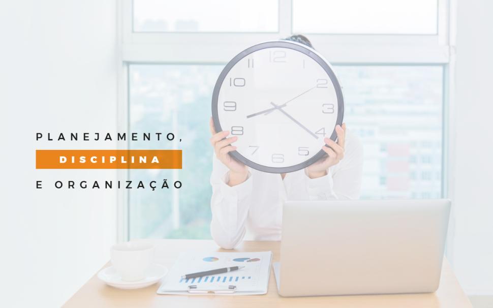 Gestão do tempo e organização da rotina de trabalho