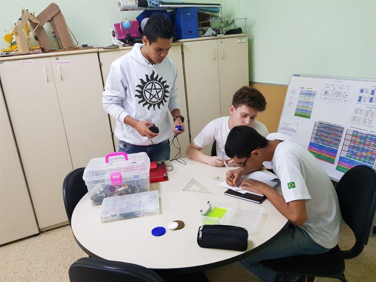 Projeto nasceu na sala de aula durante as atividades de iniciação científica