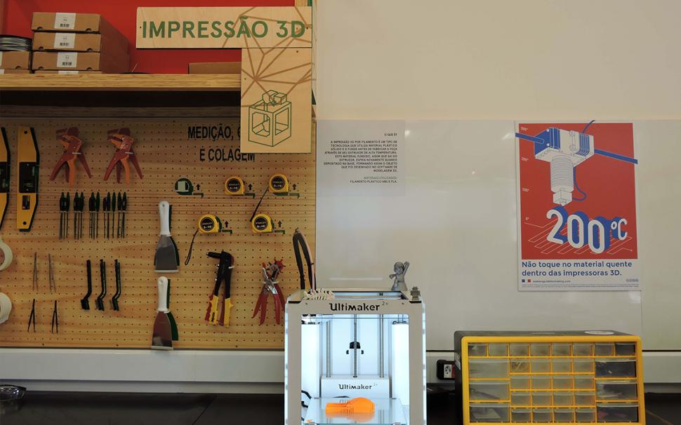 Maior rede Fab Lab do mundo é do SESI-SP
