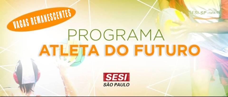Programa Atleta do Futuro