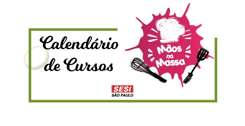 Cozinha didática agora é MÃOS NA MASSA!!!